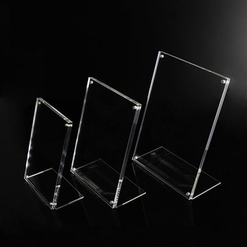 Groothandel Clear Perspex Picture Frames Display