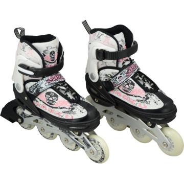 CE Teste PU Rodas Inline Skate Sapatos