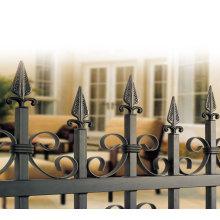 Cheap Wrought Iron Anti-rust Ornamental Fencing