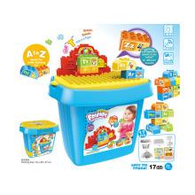 Bricolage éducatif pour enfants Bâtiment Bloc jouet intellectuel (H5931053)
