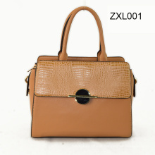 Zexin Zippered-Flap com Wardware decorativo PU Fashion Crossbody Handbag Zxl001