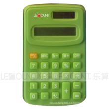 Calculadora de mano de 8 dígitos de doble poder calcula 104 * 67 * 11mm (LC321C)