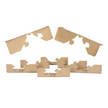 Kraft paper angle packaging corner protector guard l shape for sale