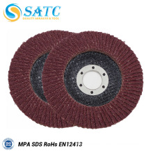 different color abrasive non-woven cloth flap disc for polishing