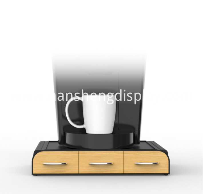 Coffee Pod Holder With Drawer