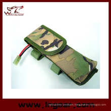 Army Tactical Aeg External Large Nylon Battery Pouch Bag Pack