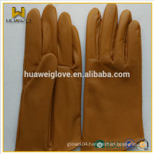 Top Cowhide Driving Leather Gloves made in Professional leather glove Factory from Lixian