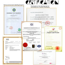 Pet Pouch Film with SGS Certificate