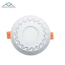 3years warranty factory direct sales factory price round led panels led panel light two color