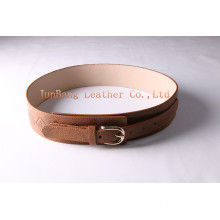 Fashion Retro Wide Waist PU Belt for Women