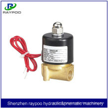 2W solenoid valve,2/2 way direct acting water valve