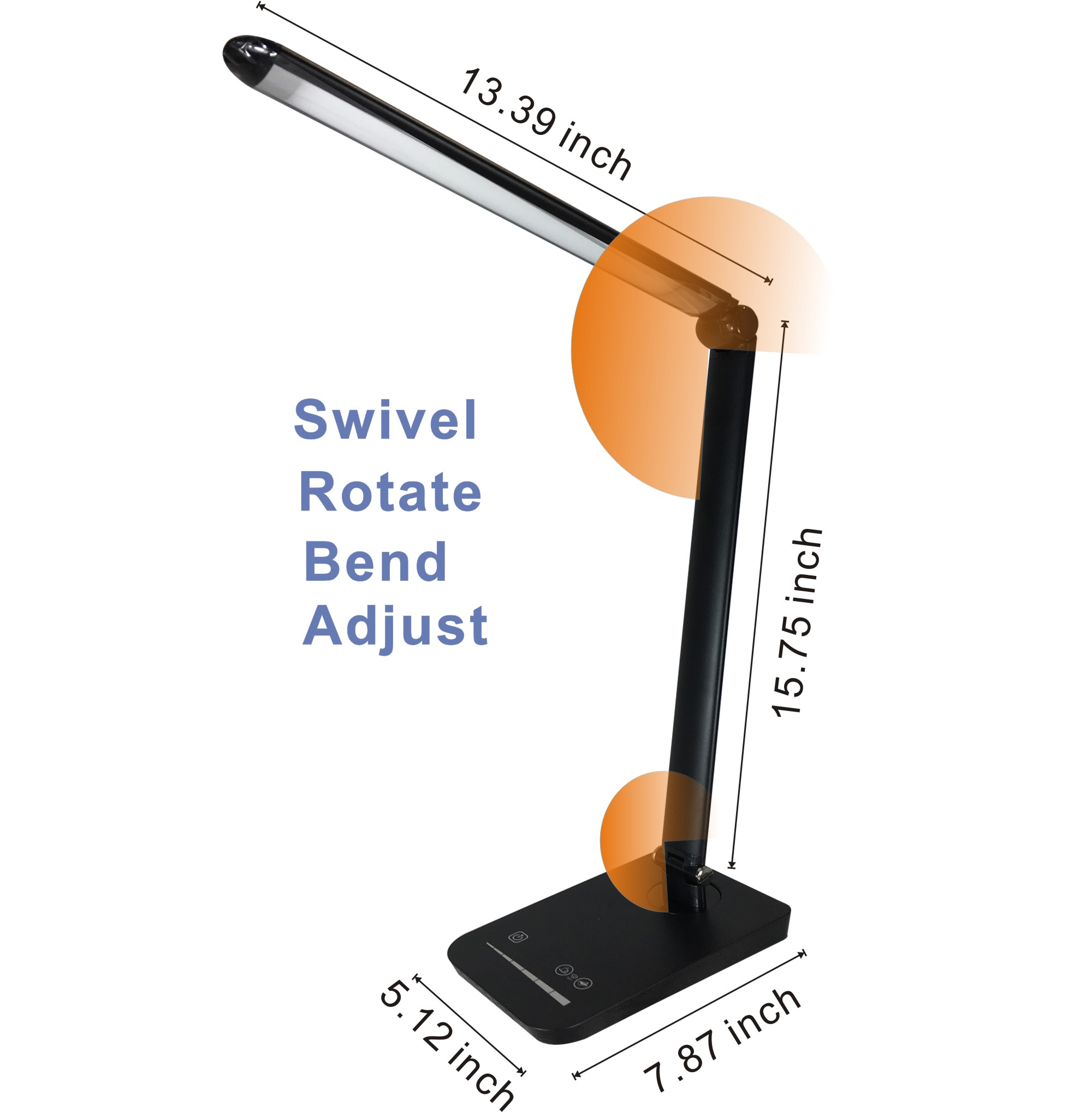 USB Dimmable Table Lamp