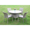 Outdoor Garden Rattan Wicker Leisure Dining Table and Chair