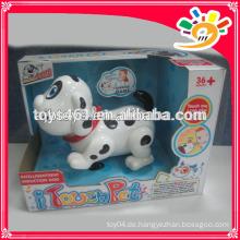 Netter B / O Hund, Plastikbatterie betriebenes Hundespielzeug für Kinder