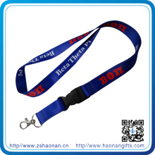 OEM Gift Lanyard Strap with Plastic Safety Buckle (HN-LD-127)