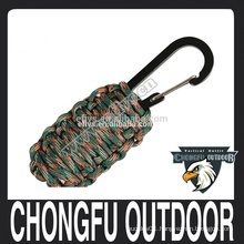 2016 Hot sale paracord fishing hook grenade for survival outdoor equipment china supplier