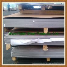 Folha de aço inoxidável 201/304 / 304L / 316L laminada a frio / a quente
