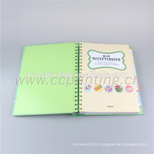 Spiral bound hardcover book printing