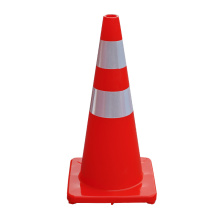 70cm Soft Flexible PVC road traffic safety cone