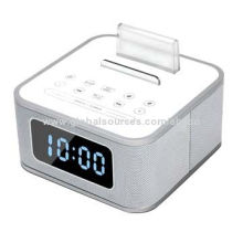 New NFC Wireless Bluetooth Speaker with USB Charger, Alarm Clock, FM Radio, Smart LCD Display