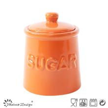 Pot de sucre Homestyle vitrage coloré
