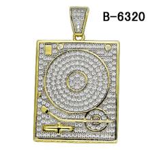 Neueste Design 925 Sterling Silber Anhänger Schmuck mit Diamant