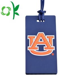 Custom Eco friendly Silicone Funny Luggage Tag