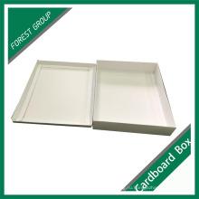 Подгонянное печатание цвета белый картон коробки с крышками
