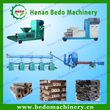 Easy operation wood sawdust Briquette extruding equipment / sawdust briquette press machine 0086133 4386 9946