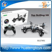 H127901 2.4Ghz mini girocompás del helicóptero del Rc, zángano con la cámara HD vídeo / RC Quadcopter con la cámara