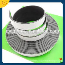 Flexible adhesive magnetic tape