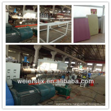 1200mm extruded polystyrene xps foam board machine