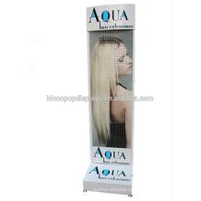 Floorstand Pegboard Salões de cabelo Estações Prateleiras, Peg Hook Extension Paleleira de exibição de salão de cabeleireiro