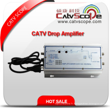 Fournisseur professionnel Portable CATV Indoor / House Drop Line Hybrid Amplifier