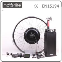 MOTORLIFE / OEM ROHS passent le kit électrique de vélo de 48v 1500w, kit électrique de roue de bicyclette