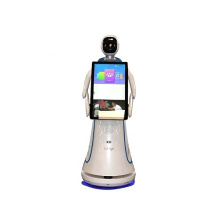 Welcome Smart AI Hotel Robots