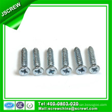 Cross Recess Blue Zinc 3.5-4mm Self-Tapping Screw