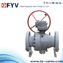 API6d Flanged End Stainless Steel Floating Ball Valve