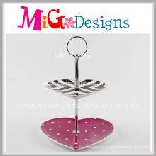 Элегантные Подарки Красочные В Форме Сердца Керамические Торт Плиты