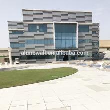 Normes de construction verte matériau composite en aluminium pour la construction de maisons