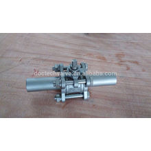 3pc Ball Extented souches vanne