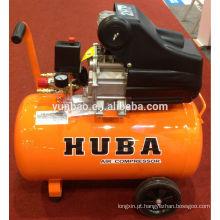 Compressor de ar 2HP / 50L conduzido direto do pistão de HUBA BAMA mini