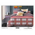 Vogue Geometrc printing ,120GSM Microfiber Bedding Set
