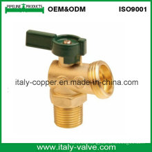 Brass Forged Bolier Drian Valve with Aluminum Handle (IC-1060)