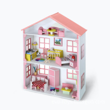 Toy House, Toy Furniture Set, Toy Set, Guest Room Toy, Rest Room Toy, Kids Furniture, Furniture Toy Set, DIY Toy Set, Dining Room (WJ278639)