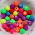 Various of 12mm Crystal Plastic Round Smooth Imitation Swarovski Beads