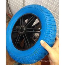 High Quality Flat Free PU Wheel (325-8)