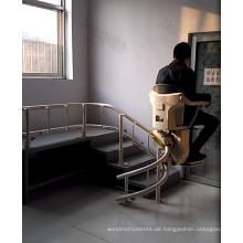 Treppenlift Home Stuhl Elektrorollstuhl innen geneigt