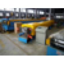 Quadratisch geformte Rohr Metallrinne Kaltumformmaschine / Metall Wasser Downspout Dachrinne Maschine