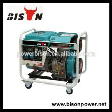 BISON (CHINA) máquina de soldadura refrigerada por aire diesel